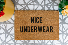 Load image into Gallery viewer, Nice Underwear Welcome Doormat