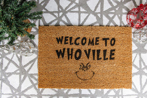 Welcome to Whoville Welcome Doormat