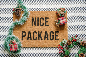 Nice Package Welcome Doormat
