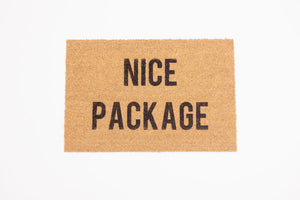 Nice Package Welcome Door mat