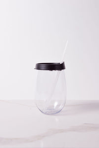 CUSTOM DESIGN - 18 oz Stemless Wine Tumbler