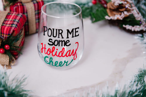 Pour me Some Holiday Cheer