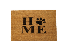 Load image into Gallery viewer, HOME (Paw print) Doormat