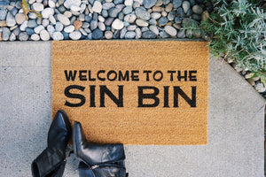 Welcome to the Sin Bin Doormat