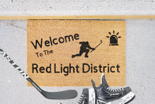 Load image into Gallery viewer, Welcome to the Red Light District Doormat