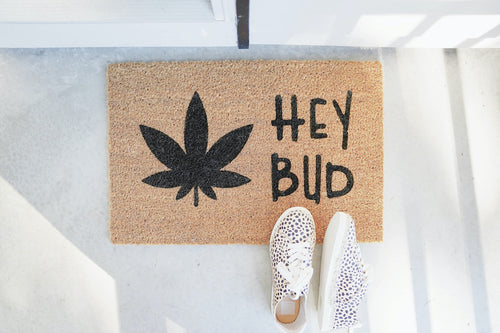 Hey Bud Doormat