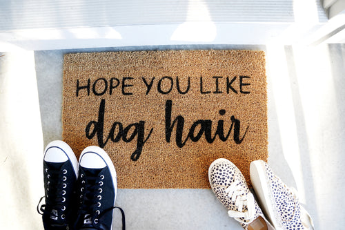 Hope you like Dog Hair Doormat