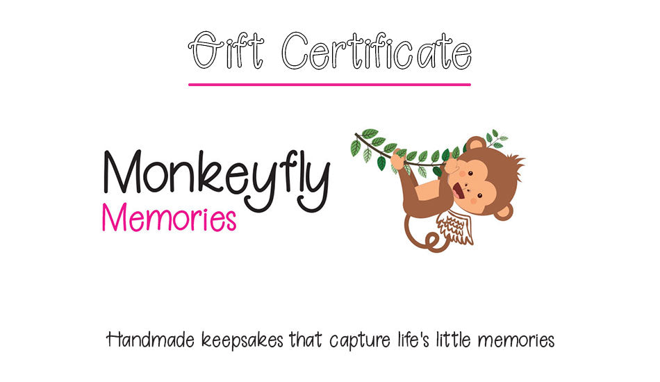 Monkeyfly Memories Gift Card