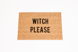 Witch Please Welcome Door mat
