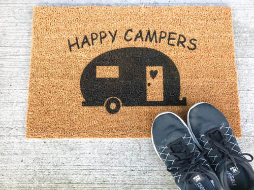 Happy Camper CUSTOM Doormat