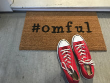 Load image into Gallery viewer, #omful Doormat