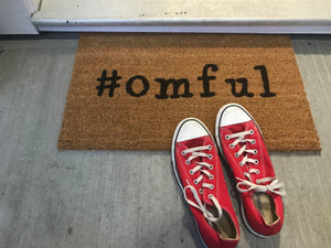 #omful Doormat