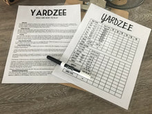 Load image into Gallery viewer, Yardzee Outdoor Garden Game