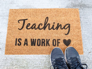 Teaching is a work of ❤️
