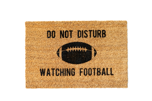 MonkeyFly Memories Do Not Disturb Watching Football Doormat