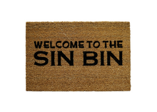 Load image into Gallery viewer, Welcome to the Sin Bin Doormat