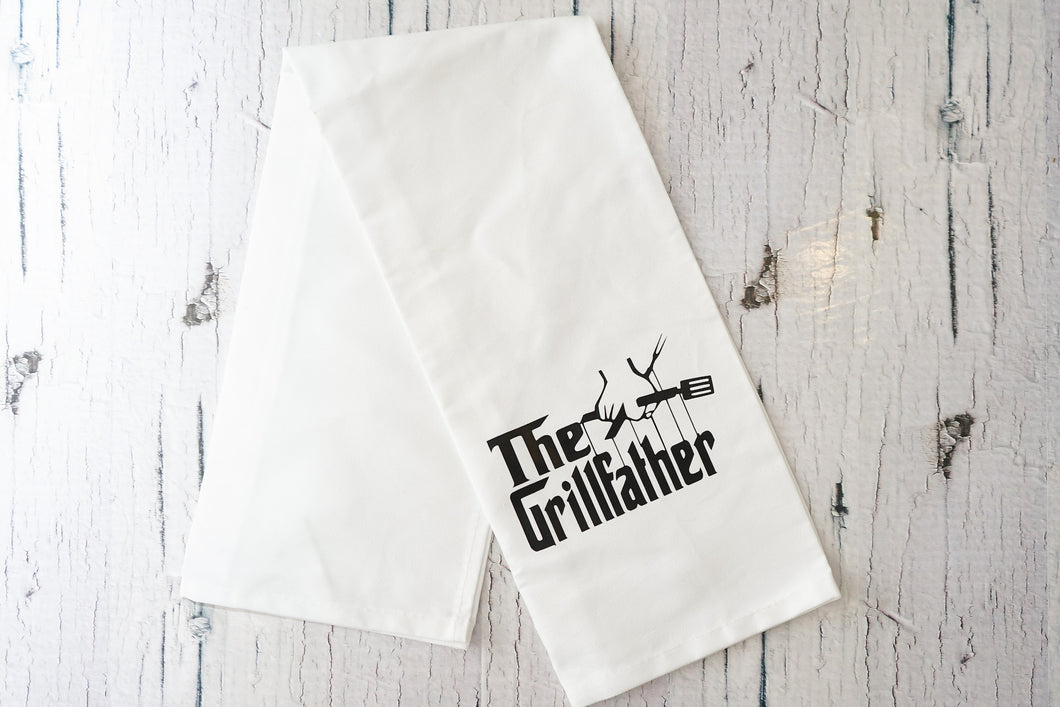 The Grillfather Tea Towel