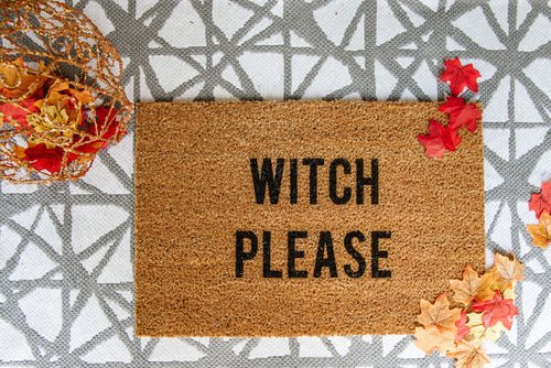 Witch Please Welcome Doormat