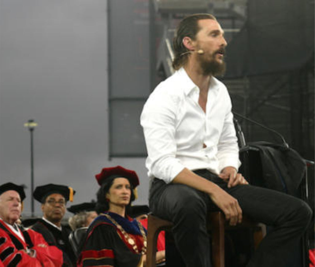 Matthew McConaughey Commencement Speech at the University of Houston
