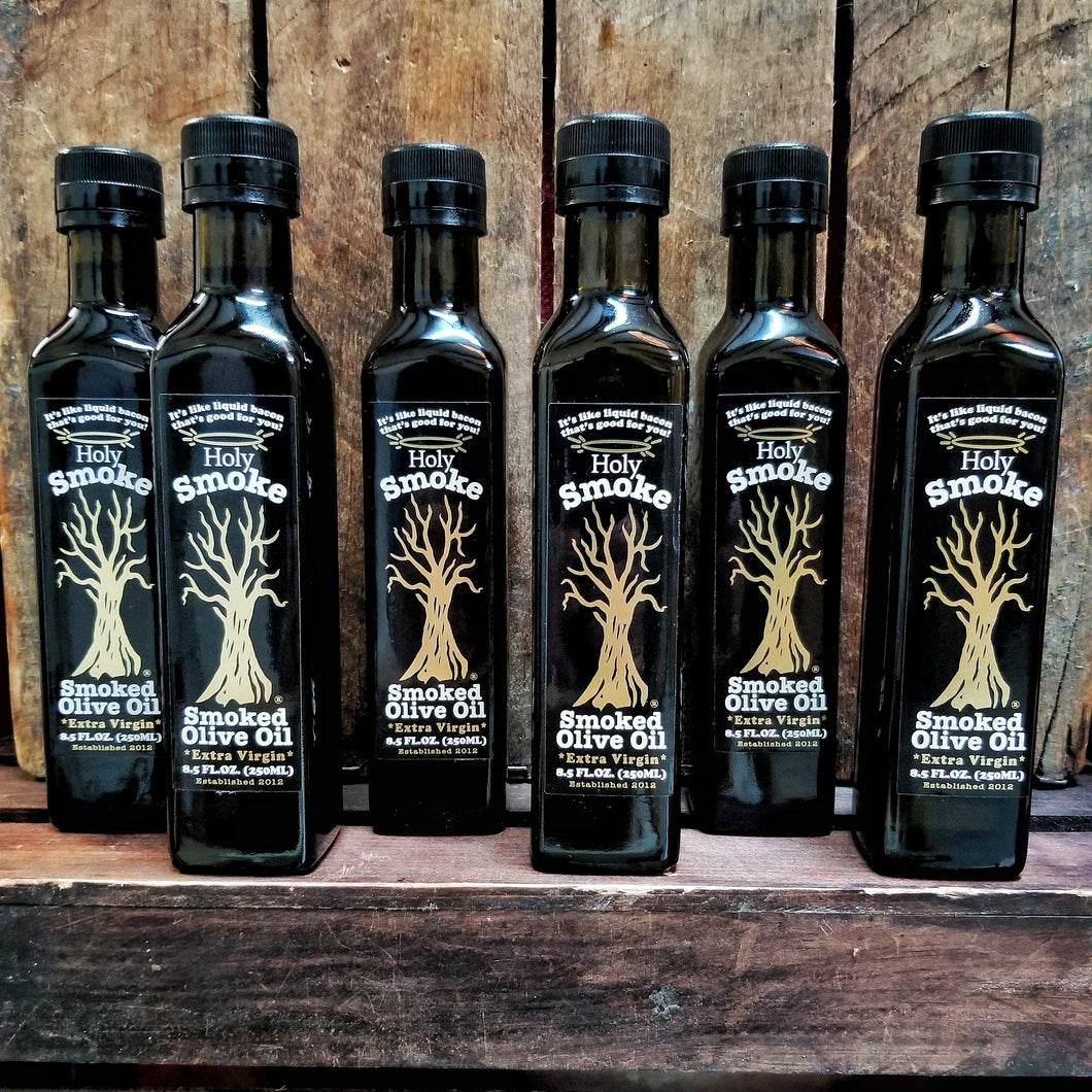 6 for $74 Smoked Olive Oil Special! (250ml)