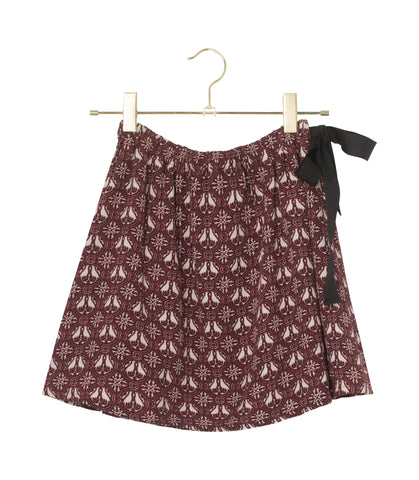 Flora Skirt - Tawny Port
