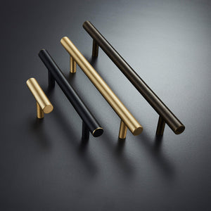 Line Bar Knob Brass - zhnng