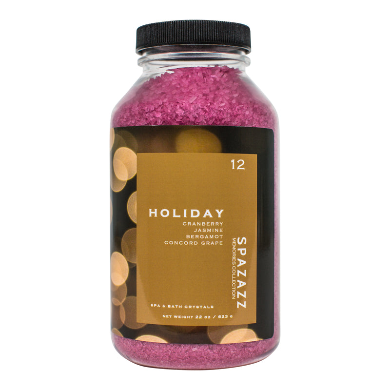 Spazazz Memories - Holiday - Cranberry & Bergamot