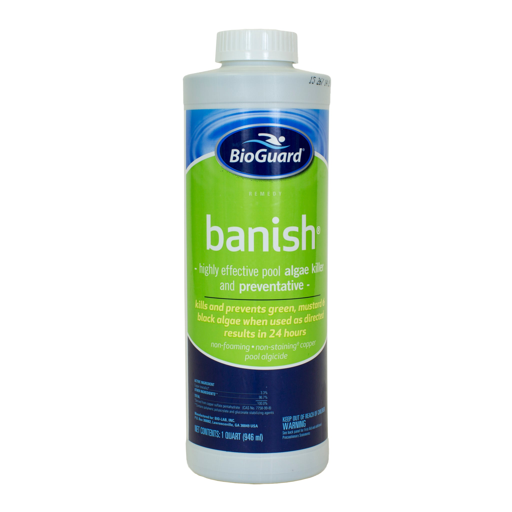Bioguard banish pool geek Swimming pool algae treatment