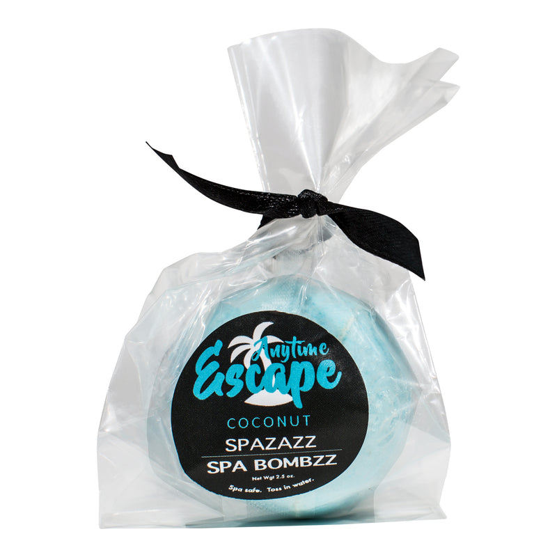 Spazazz Spa Bombzz Anytime Escape - Coconut