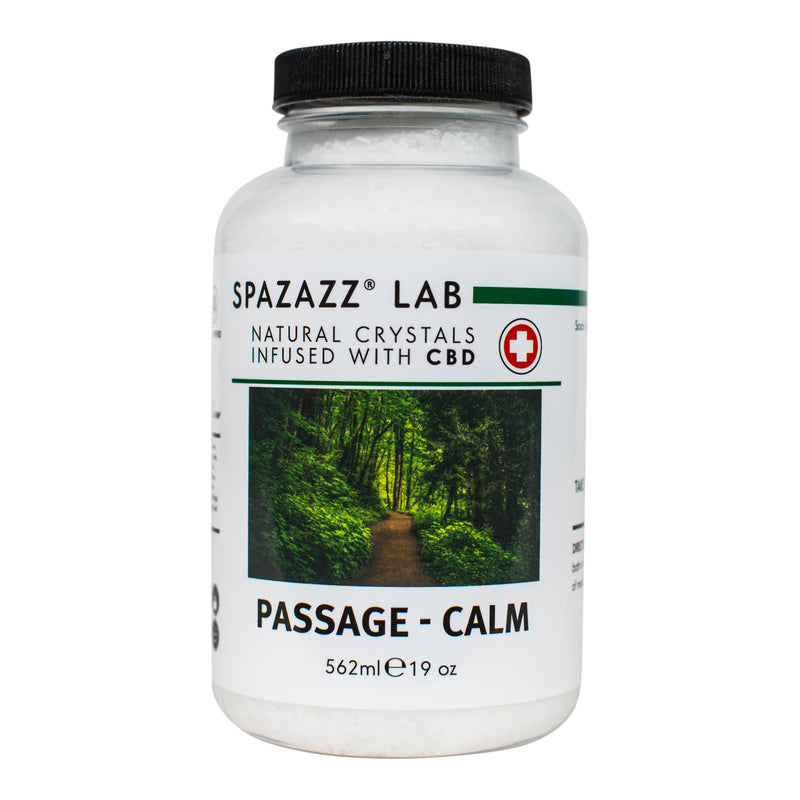 Spazazz Passage - Calm Crystals (Infused With CBD)