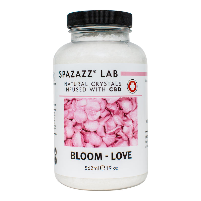 Spazazz Bloom - Love Crystals (Infused With CBD)