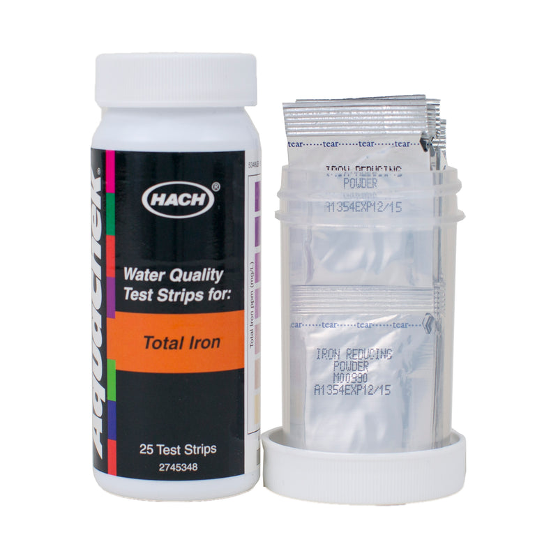 AquaChek Total Iron Test Strips