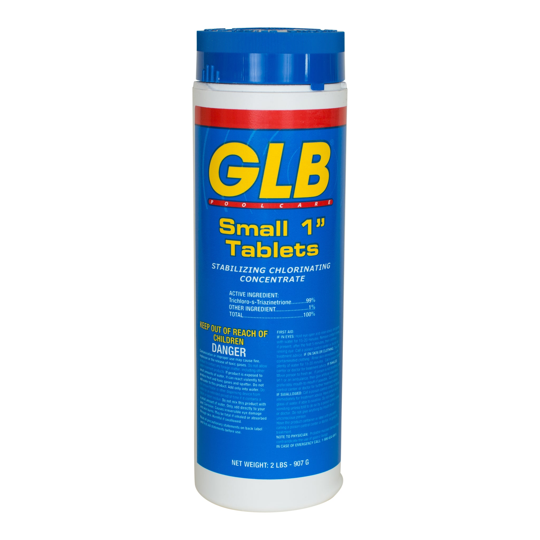 Glb Small 1 Inch Tablets Pool Geek