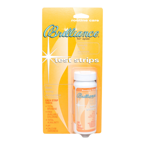 Brilliance For Spas 5-Way Test Strips