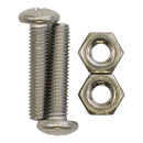 "Polaris C75 - Screw/Nut, 10-32 x 7/8"" SS Pan Head"