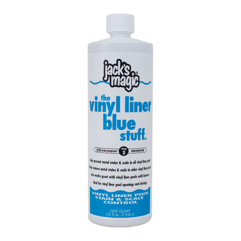 Jack's Magic The Vinyl Liner Blue Stuff