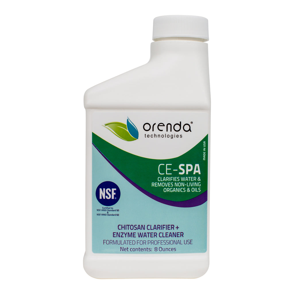 Orenda CE-SPA Chitosan Clarifier + Enzyme Water Cleaner
