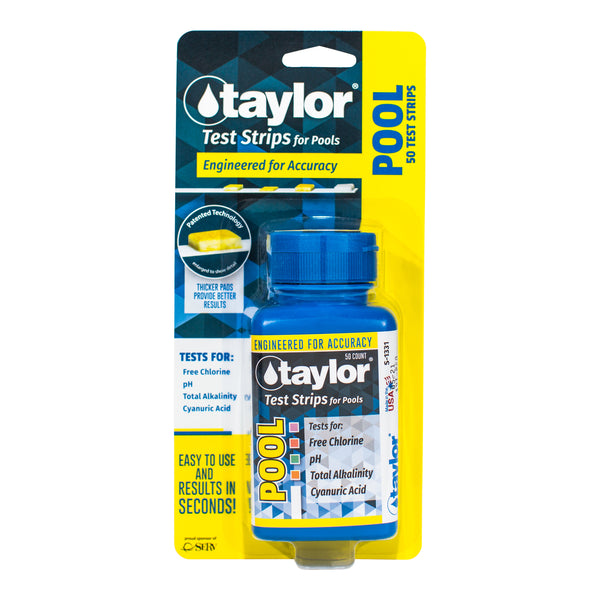 Taylor Pool Test Strips