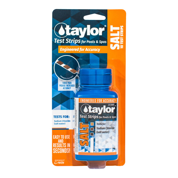 Taylor Salt Pool and Spa Test Strips