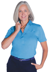 Short Sleeve Solid Polo</br>Riviera 27P