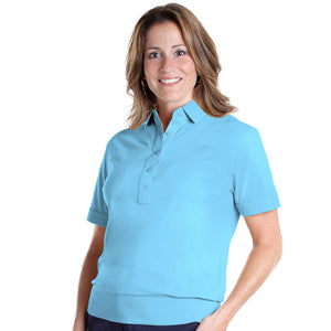 Banded Bottom Solid Polo | Clearwater 266 - Leonlevin