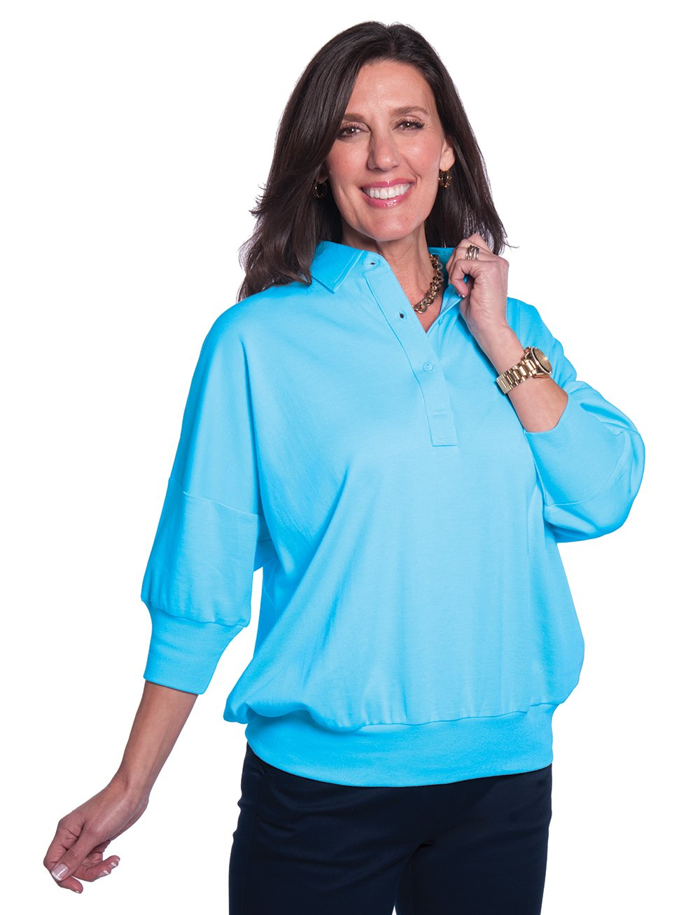 One Size Fits All Solid Polo</br>Cozumel 29P