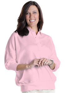 One Size Fits All Solid Polo Carnation 753