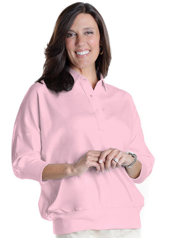 One Size Fits All Solid Polo Carnation 753 - Leonlevin