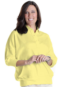 One Size Fits All Solid Polo Lemonade 509 - Leonlevin