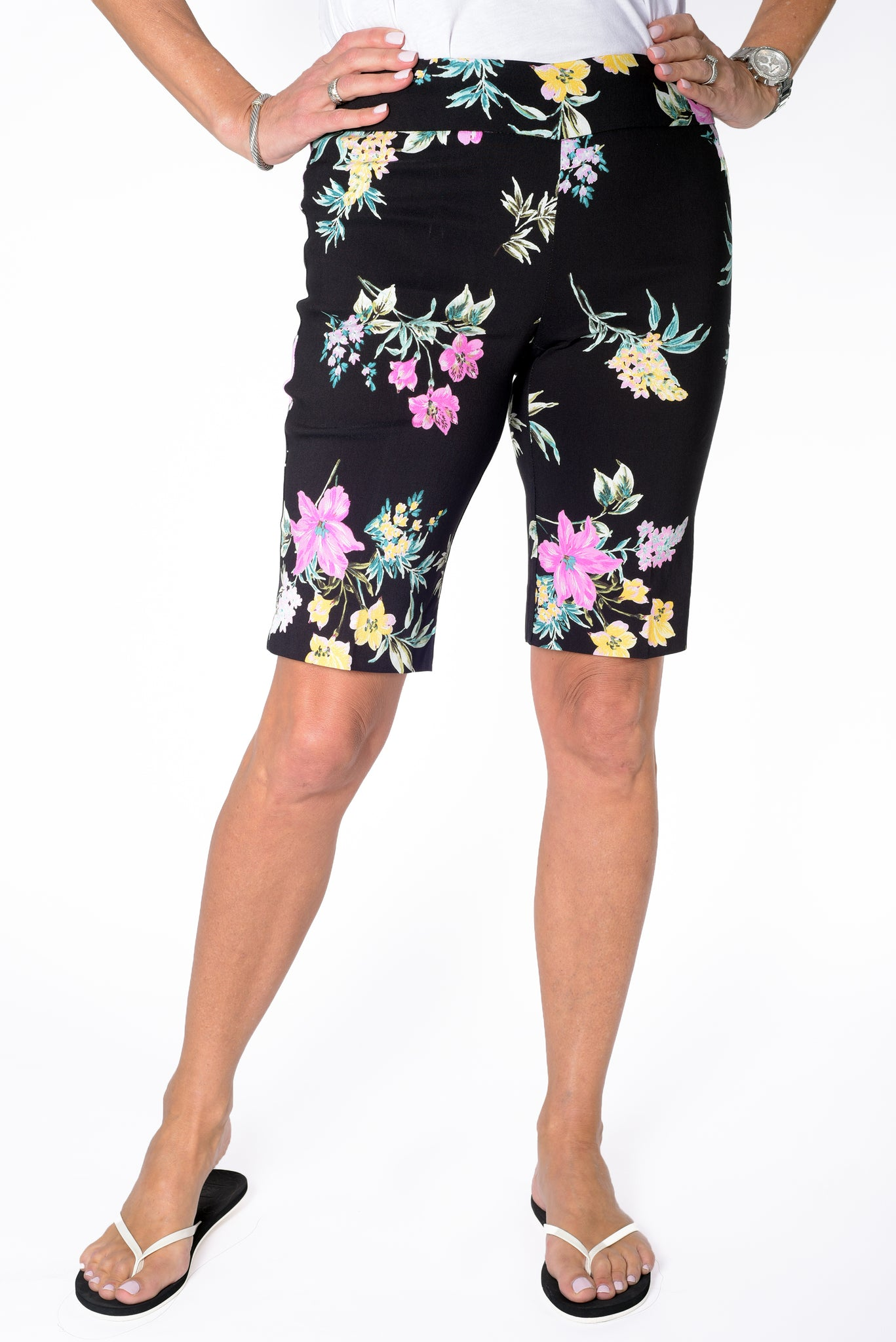 Walking Short with Comfort Stretch | Hot Tropic 50H - Leonlevin