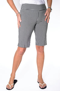 Walking Short with Comfort Stretch | Classic Gingham 50J