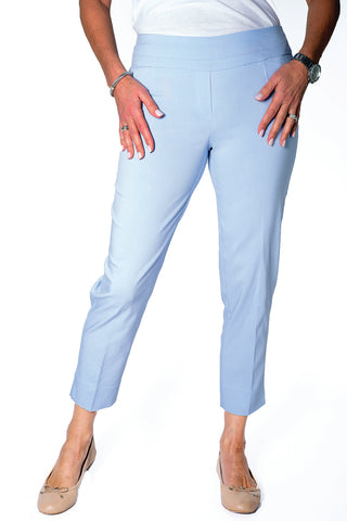 Ladies Ankle Pant | Lt Blue 50B - Leonlevin