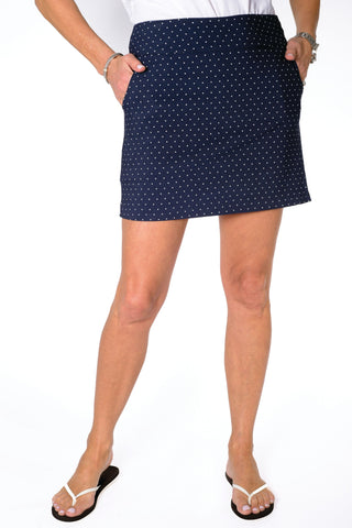 Print Q-Skirt Pin Dot 50F - Leonlevin