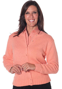 America's Favorite Cardigan Apricot 20A - Leonlevin